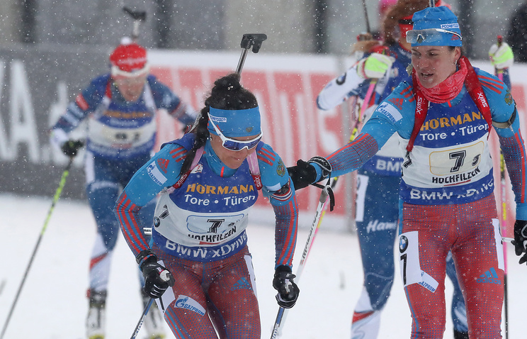 Татьяна Акимова и Ирина Старых (слева направо)