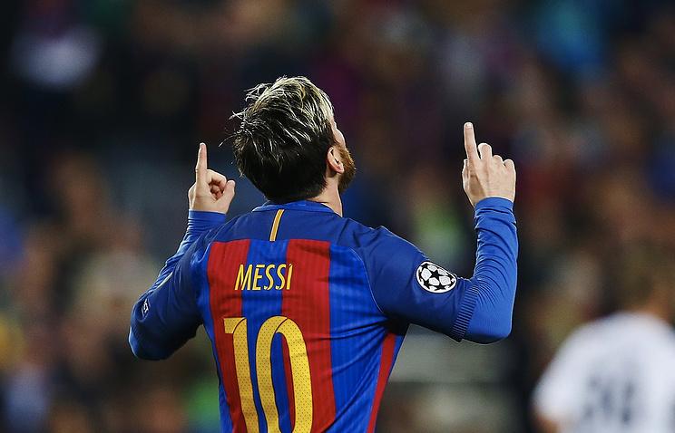 Дубль Месси принес «Барселоне» победу над «Леганесом» вчемпионате Испании пофутболу