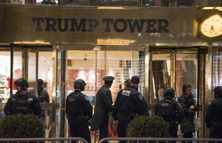 Нью-Йорк требует компенсировать затраты наохрану Trump Tower