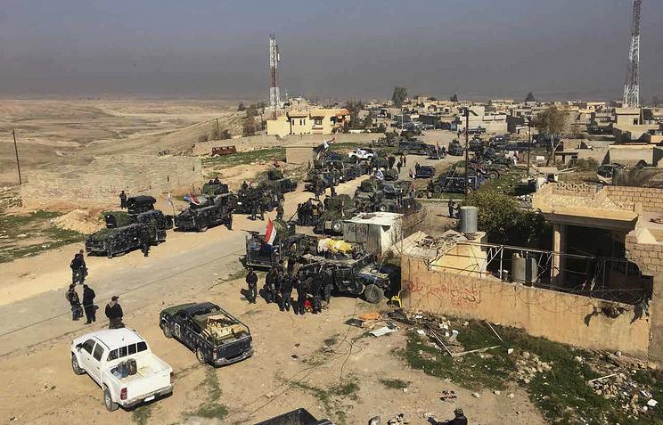 Иракская армия освободилa от ИГ аэропорт и военный лагерь Эль-Газлани близ Мосула