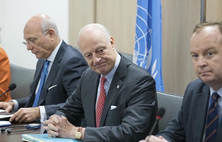 Спецпосланник генсека ООН по Сирии Стаффан де Мистура