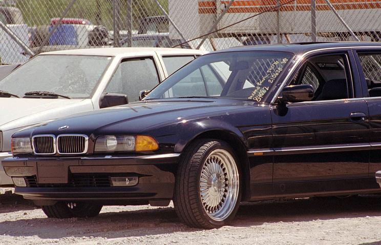 BMW, в котором был убит рэпер Тупак Шакур