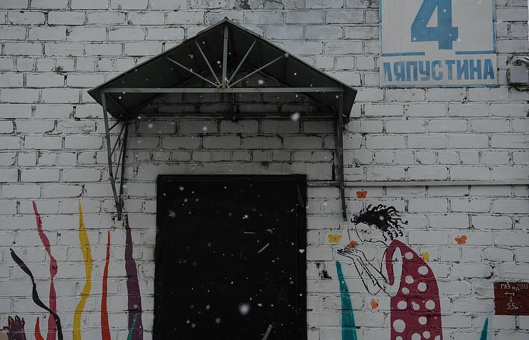 На территории екатеринбургского детского дома-интерната
