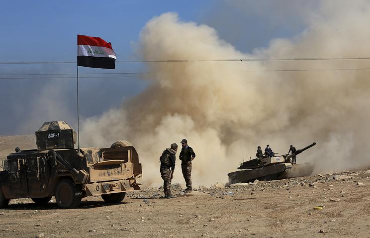 Военные Ирака начали крупную операцию по освобождению Мосула