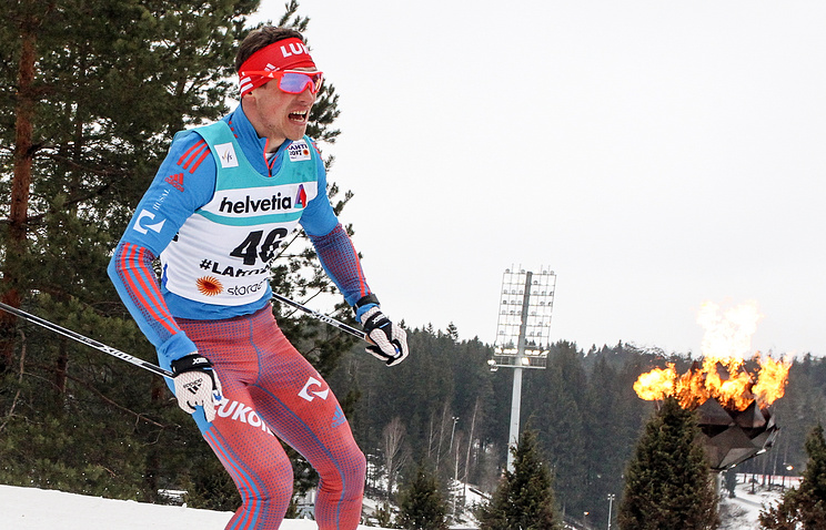 Лыжник Александр Бессмертных остался без медали чемпионата мира вЛахти