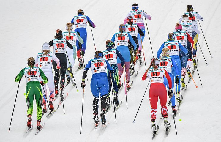Норвежские лыжницы выиграли эстафету наЧМ вЛахти, Российская Федерация - 5-ая