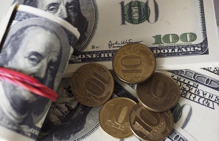 Доллар вырос до58,88 рубля