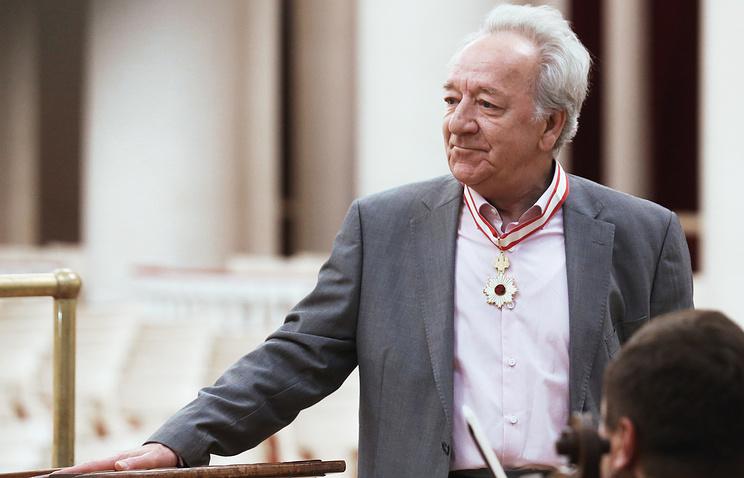 Главный дирижер Академического симфонического оркестра Санкт-Петербургской государственной филармонии Юрий Темирканов