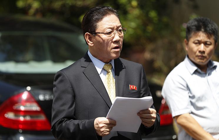 Посол КНДР в Малайзии Кан Чоль