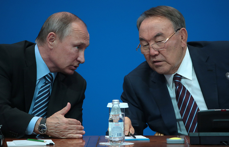 Путин иНазарбаев договорились провести еще одну встречу поСирии вАстане
