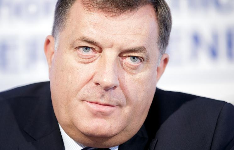 Глава Республики Сербской Милорад Додик