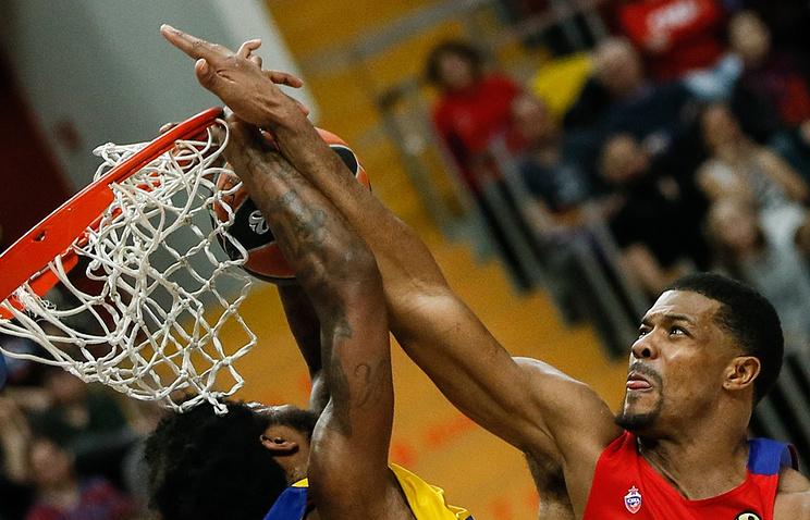 Баскетбольный ЦСКА вышел вплей-офф Евролиги, одолев «Галатасарай»