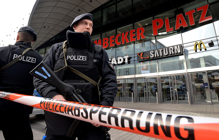 Милиция Германии сообщила опредотвращении крупного теракта в коммерческом центре Эссена