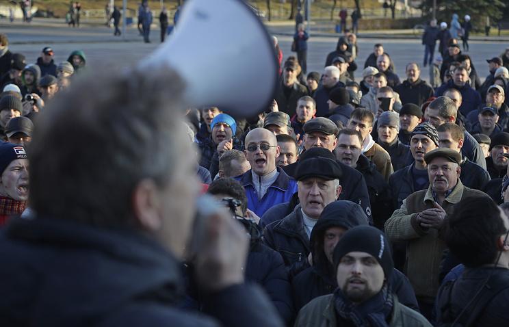 В республики Белоруссии продолжаются протесты противников декрета «отунеядцах»