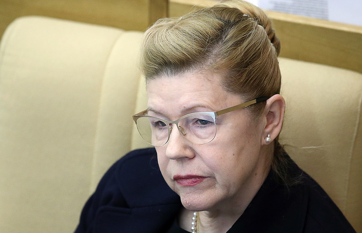 Зампред комитета Совета Федерации по конституционному законодательству и государственному строительству Елена Мизулина