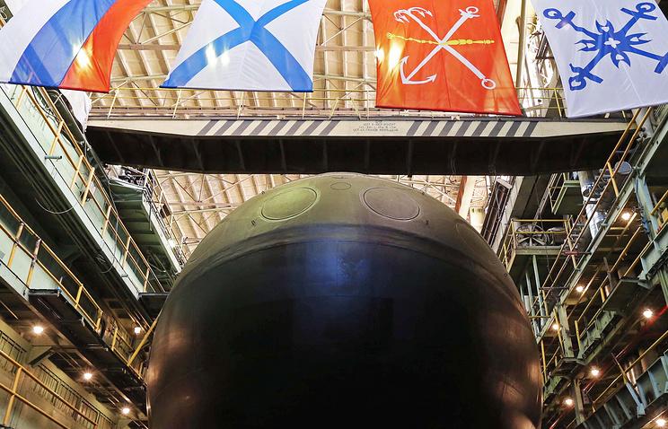 """Электрическая подводная лодка проекта 636.3 """"Великий Новгород"""""""