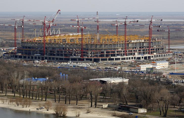 Болельщики строящегося стадиона «Ростов-Арена» будут мерзнуть натрибунах