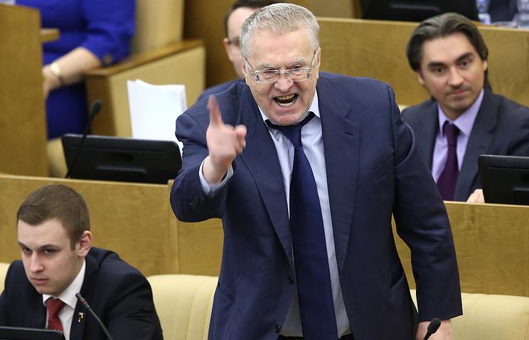 Лидер ЛДПР Владимир Жириновский, 15 марта