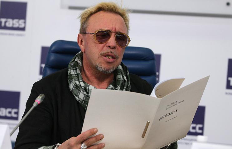 """Лидер группы """"Бригада С"""" Гарик Сукачев"""