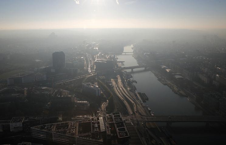 Вштаб-квартире МВФ встолице франции произошел взрыв, есть пострадавшие