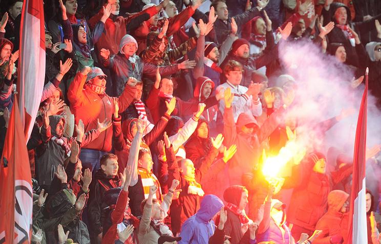 «Спартак»: Болельщики устроят шествие перед матчем «Црвена Звезда»