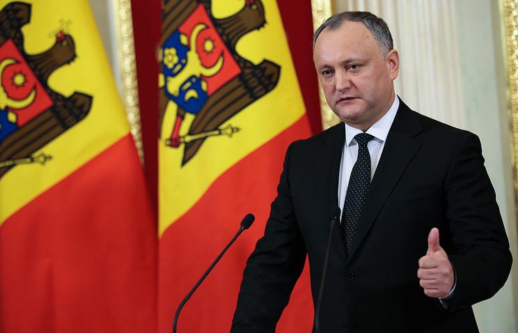 Додон сказал  про разработку нового соглашения остратегическом партнерстве сРоссией