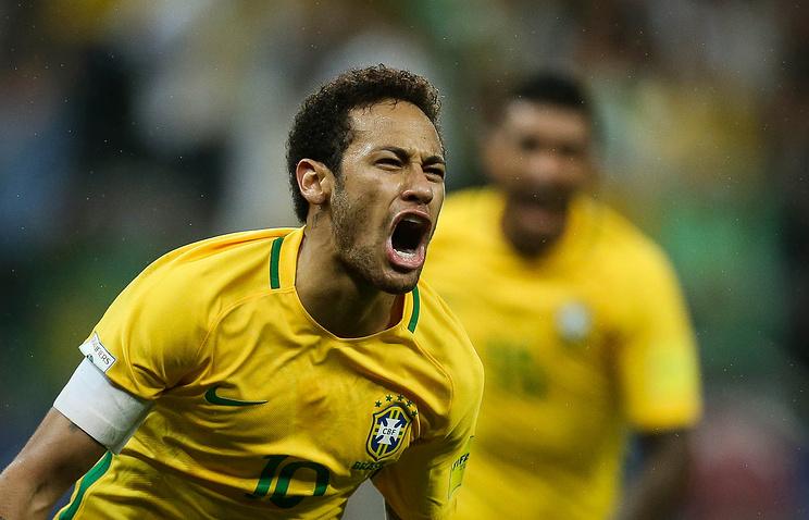 Лидер сборной Бразилии Неймар
