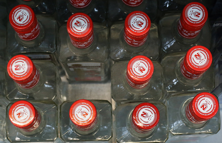 Роспотребнадзор: Количество алкогольных отравлений в России уменьшилось на24%