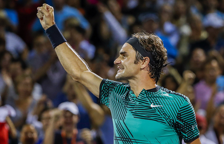 Федерер обыграл Надаля вфинале Miami Open