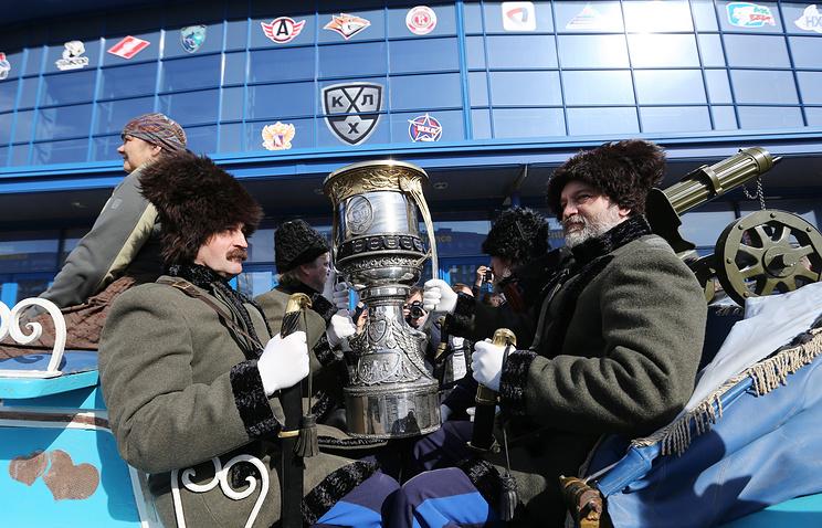 СКА победил «Магнитку» впервом матче финала Кубка Гагарина