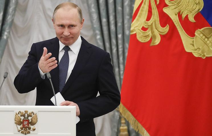 Путин распорядился вознаградить участников приватизации Роснефти