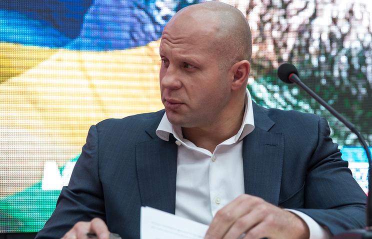 Емельянеко ведёт переговоры обое в Российской Федерации врамках турнира Bellator