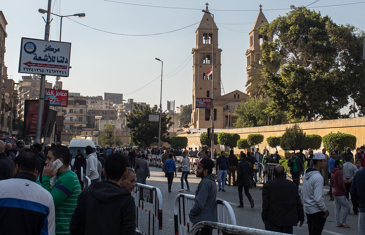 Коптский Кафедральный собор в Каире