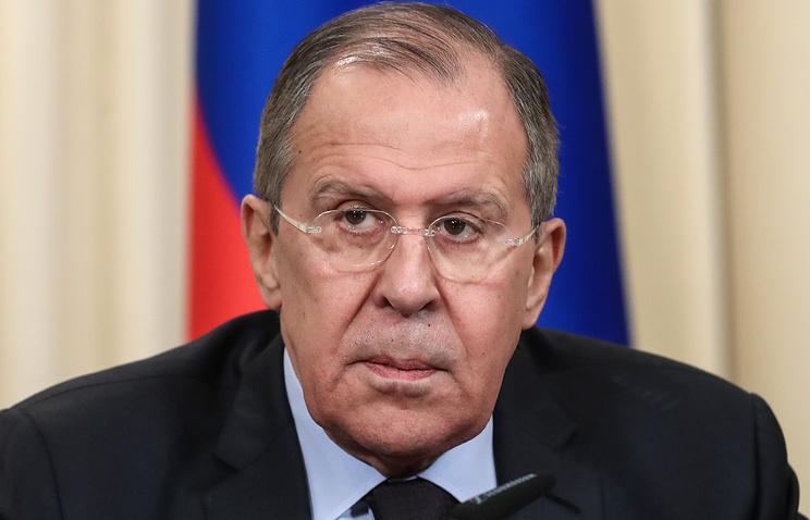 Лавров напомнил, Минские соглашения непредусматривают ввод миротворцев вДонбасс