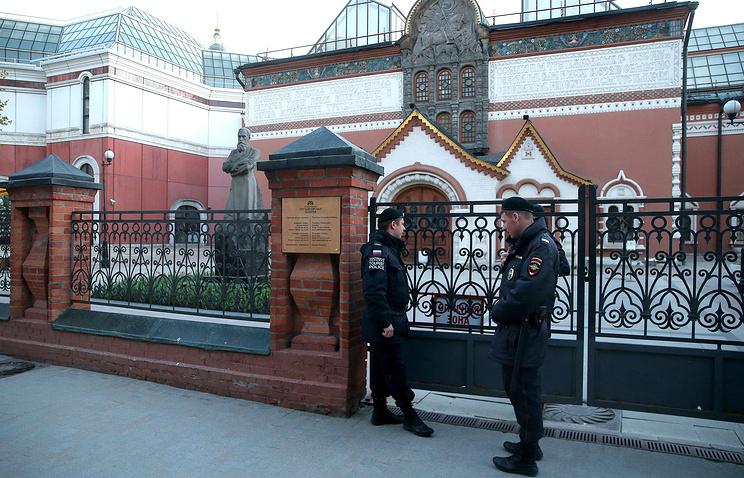 Третьяковская галерея была эвакуирована из-за неопознанного предмета