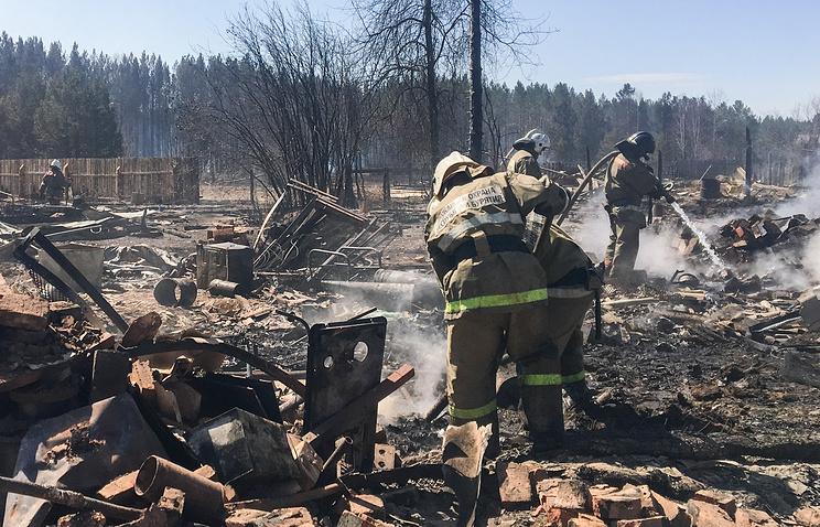 ВИркутской области начались выплаты гражданам, пострадавшим отпожаров