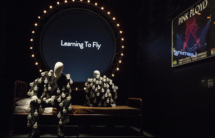 Встолице Англии открылась ретроспективная выставка, приуроченная к Pink Floyd