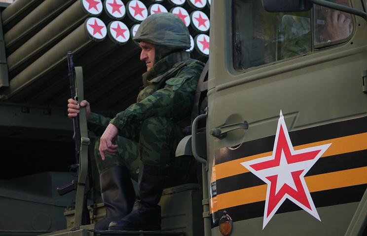 Военнослужащий армии ДНР