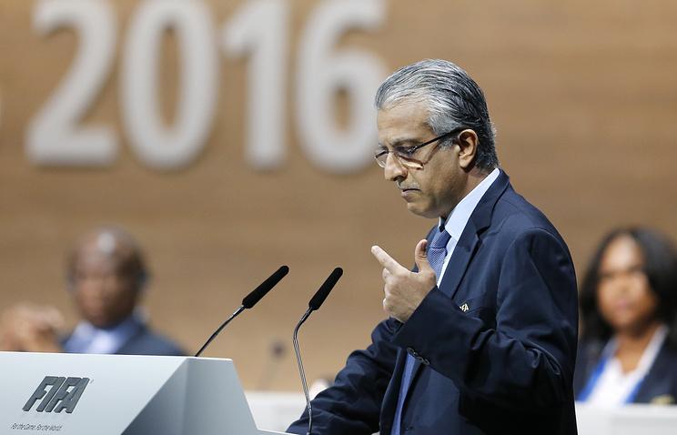Президент Азиатской конфедерации футбола (АФК) шейх Сальман бен Ибрагим Аль Халифа