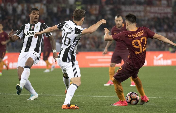 «Рома» прервала 16-матчевую беспроигрышную серию «Ювентуса» вчемпионате Италии пофутболу