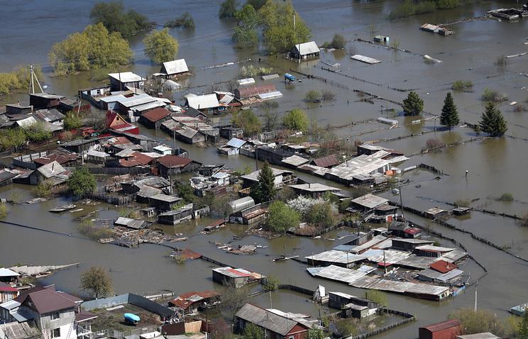 В 3-х  субъектах РФ  из-за паводка введен режимЧС