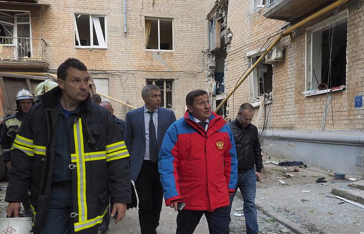 ВВолгоградской области введен режимЧС после взрыва газа