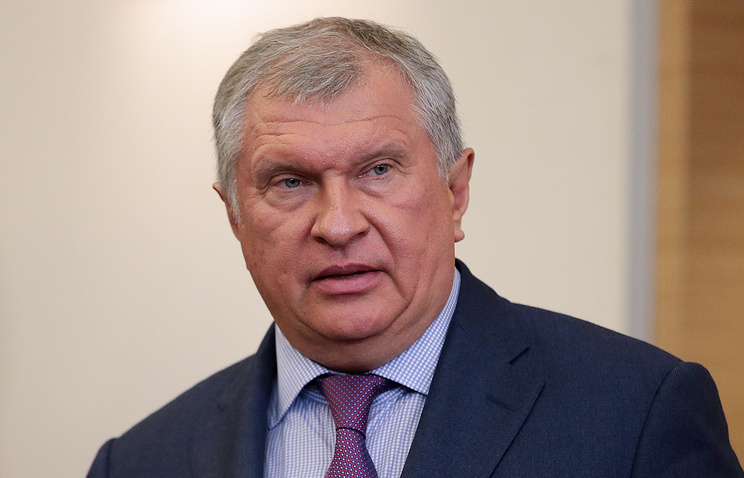 """Президент, председатель правления ОАО """"НК """"Роснефть"""" Игорь Сечин"""
