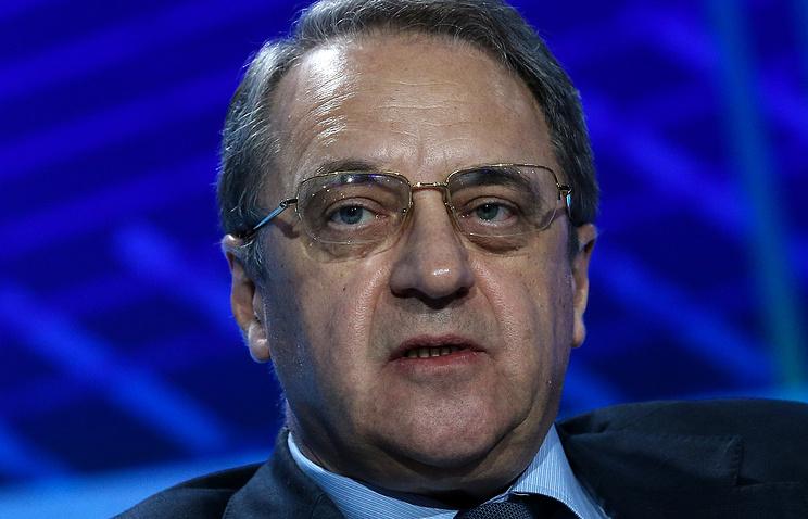 Заместитель министра иностранных дел РФ, специальный представитель президента РФ по Ближнему Востоку Михаил Богданов
