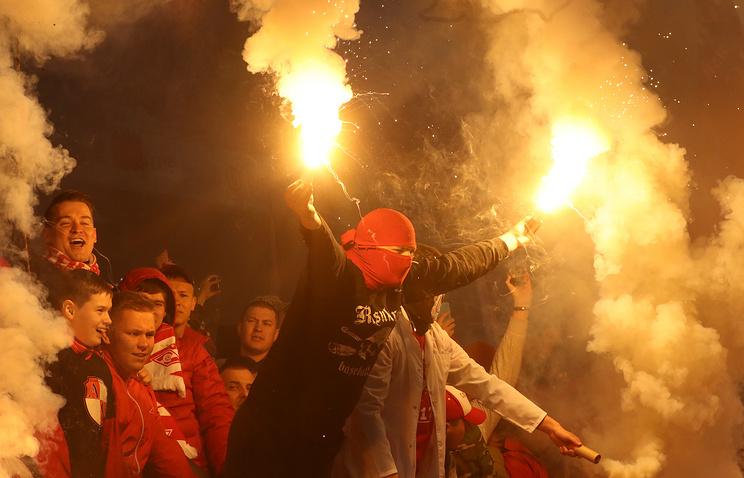 191 гражданинуРФ воспрещено посещение футбольных матчей натерритории страны