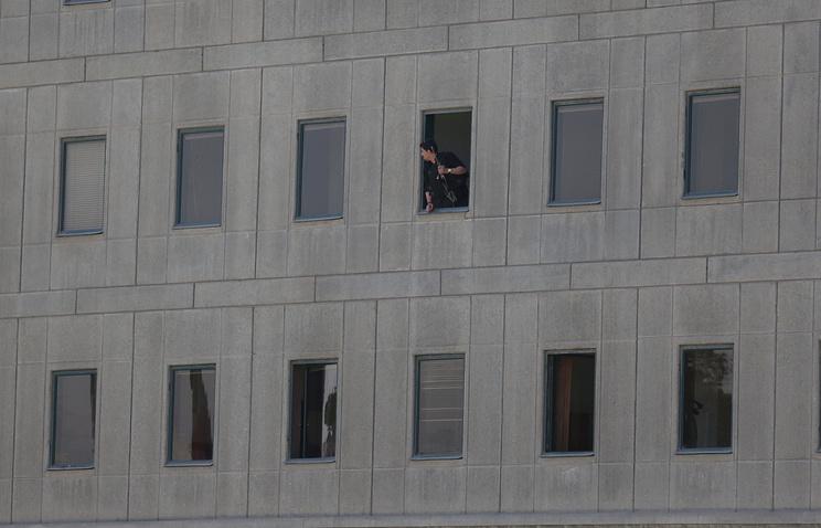 Здание парламента в Тегеране