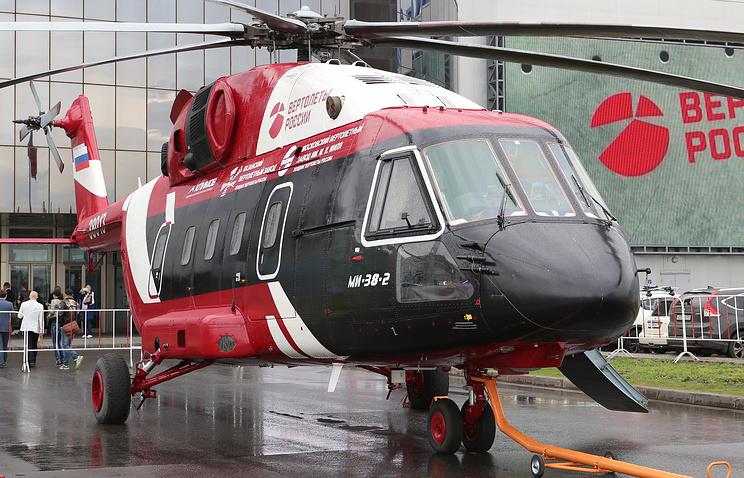 Многоцелевой вертолет Ми-38