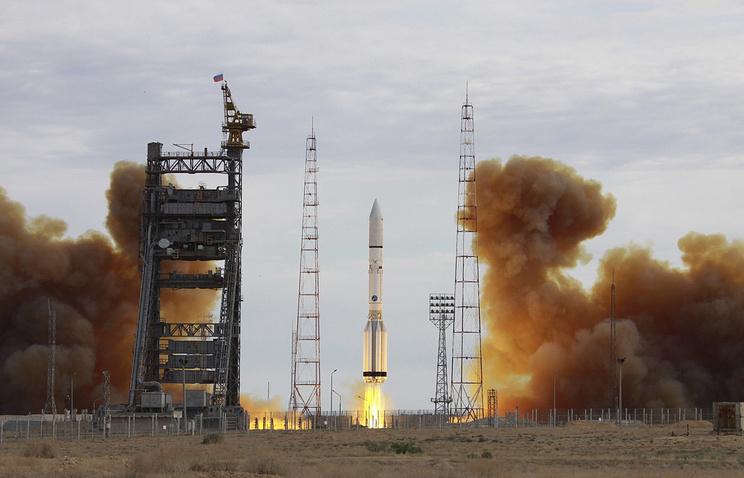 Ракета «Протон-М» стартовала сБайконура после годового перерыва