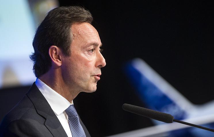 Президент и генеральный директор Airbus Фабрис Брежье