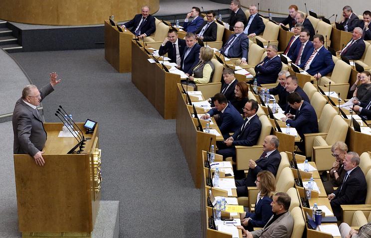 Лидер ЛДПР, член комитета Госдумы РФ по обороне Владимир Жириновский, 14 июня